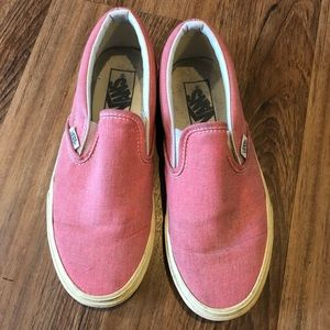 Pink Van Sneakers